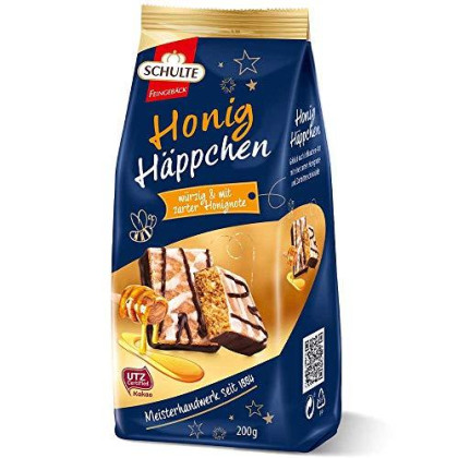 Schulte Honey Gingerbread Cookies Made In Germany 200G