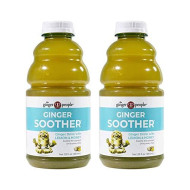 The Ginger People Ginger Soother, Lemon and Honey 32 Ounce - Pack of 2