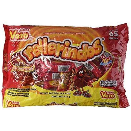 Vero Mexican Tamarindo Candy Rellerindos - 65 Count [Misc.] - pack of 3