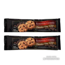 European Chocolate Chip Cookies With Belgian Chocolate
