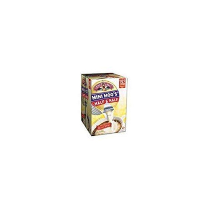 Land O` Lakes Mini Moos Half Amp; Half, .5Oz, 192 Per Carton - Pack Of 2