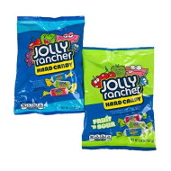 Jolly Rancher Variety 2-Pack! Jolly Rancher Hard Candy 3.8 Oz And Fruit'n Sour 3.8 Oz! Enjoy Both The Classic Jolly Rancher Flavors Along With The Fruit n' Sour!