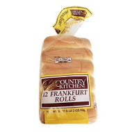 Country Kitchen Frankfurter Rolls for Hot Dogs or Maine Lobster - Pack of 12 or 24 Count