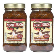 Borden Naturals Mincemeat Pie Filling And Topping | (2) 27 Ounce Jar - Gourmet, All Natural, And Free Of High Fructose Corn Syrup!