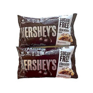 Hershey'S Sugar Free Chocolate Chips - Special Edition Pack Of 2 - Includes Free Recipe Of The Month Card With Sugar Free Recipes
