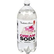 Imported 2L Cream Soda From Quebec - Presidents Choice