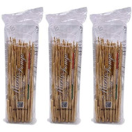 Mario Fongo Hand Stretched Extra Long Italian Grissini Stirati Breadsticks - Imported From Italy - 200G (7Oz) (3 Pack)