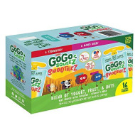 Gogo Squeez Smoothiez, Variety Pack (4 Oz., 16 Pk.)