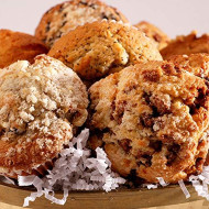 Poppie's Dough Fresh Baked Muffin and Scone Basket (13 Pieces) - Thank You Gifts, Quarantine Birthdays, Gifts for Men & Women, New Baby, Congrats, Sympathy Gift, Anniversary Gifts, Gifts for Seniors