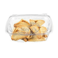 Purim Cookies   Hamentaschen Cookies   Jelly Top Cookies with Apricot Filling   Shortbread Cookies   Dairy & Nut Free   Mishloach Manot   Purim Gifts Idea   8 oz Stern?s Bakery