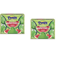 Marshmallow Peeps Sour Watermelon ~ set of 2 packs