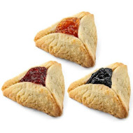 Purim Cookies | Shortbread Cookies with Apricot, Raspberry & Prune Filling | Hamentaschen Cookies | Dairy, Nut & Soy Free | Shalach Manot | Purim 2020 Gifts Idea | 45 oz Stern?s Bakery