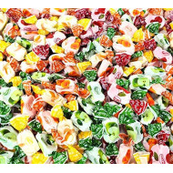 Arcor Assorted Fruit Flavored Chewy Candy, Individually Wrapped Bulk Pack, 2 Lbs