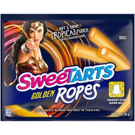 SweeTARTS Wonder Woman Golden Ropes, Tropical Punch, 9 Ounce, 3 Count
