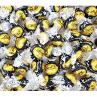 CrazyOutlet Lindt Lindor 70% Extra Dark Chocolate Truffles Candy, Black Gold Wrap, Bulk Pack 2 Lbs