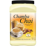 Chamba Chai Spiced Chai Latte Drink Mix, 64 Ounces