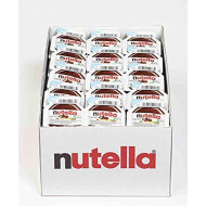 Nutella Chocolate Hazelnut Spread, Single Serve Mini Cups, Perfect Topping for Pancakes, .52 Oz Each, 120 Count