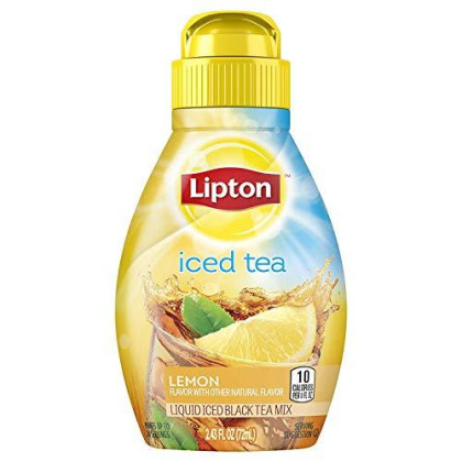 Lipton Liquid Iced Tea Mix, Lemon 2.43 oz
