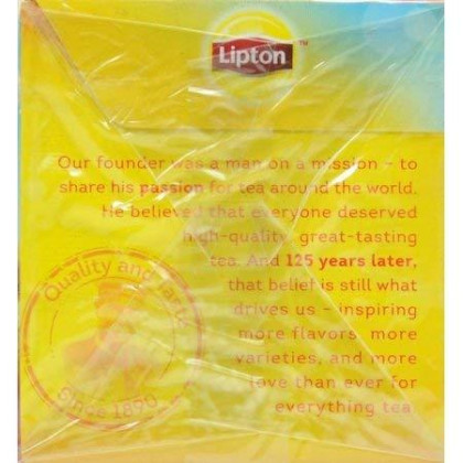 Lipton Southern Sweet Iced Tea Bags 22 Count Family Size (Pack Of 2)