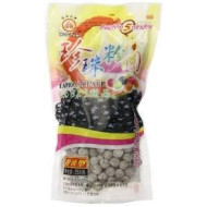 "1 Packs of BOBA (Black) Tapioca Pearl ""Bubble Tea Ingredients"""