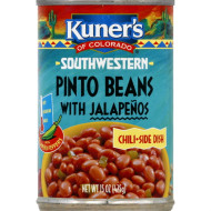 Kuners, Bean Chili Sce Jlpno, 15 Oz, (Pack Of 12)
