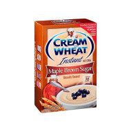 Cream Of Wheat Maple Brown Sugar 10 Pk Instant Hot Cereal 12.5 Oz (Pack Of 12)
