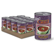 Amy's Organic Black Bean Chili, Low Fat, USDA Organic, 14.7-Ounce, pack of 12