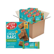 Enjoy Life Chewy Bars, Caramel Apple Nut Free Bars, Soy Free, Dairy Free, Non GMO, Gluten Free, 6 Boxes (30 Total Bars)