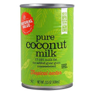 Natural Value Coconut Milk, 13.5 Oz. Cans (Count Of 12)