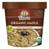 Dr. Mcdougall'S, Non Dairy Hot Cereal, Organic Maple 4 Grain With Real Maple, 2.5 Oz
