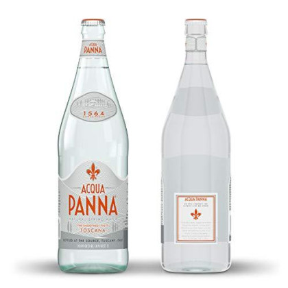 Acqua Panna Natural Spring Water, 33.8 Fl. Oz. Glass Bottle