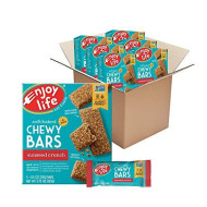 Enjoy Life Chewy Bars, Sunseed Crunch Nut Free Bars, Soy Free, Dairy Free, Non GMO, Gluten Free, 6 Boxes (30 Total Bars) (Pack of 6)