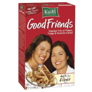 Kashi Good Friends High Fiber Cereal, 13-Ounce Boxes (Pack Of 6)