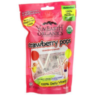Yummy Earth Strawberry Pops, 3-Ounces (Pack Of6)
