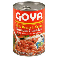 Goya Pink Beans In Sauce (Guisadas), 15-Ounce Units (Pack Of 6)