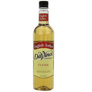 Davinci Gourmet Classic Flavored Syrups English Toffee 750 Ml