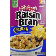 Kelloggs Raisin Bran Crunch (56.6 Oz), 56.6 Ounce