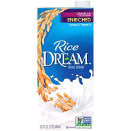 Rice Dream Rice Drink, Enriched Vanilla, 32 Oz (Pack of 12)
