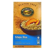 Natures Path Organic Cold Crispy Rice Cereal, 10 Ounce - 12 Per Case.