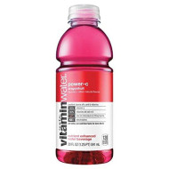 Glaceau Vitaminwater Nutrient Enhanced Water Beverage, Power-C (Drangon Fruit), Vitamin C + Taurine, 20 Oz (Pack Of 24)
