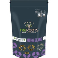 TruRoots Organic Sprouted Mung Beans, 10 Ounces (Pack of 6), Certified USDA Organic, Non-GMO Project Verified