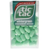 Tic Tac Mint, Wintergreen, Fresh Breath Mints, Perfect Candy Easter Egg And Basket Stuffers, 24 Count