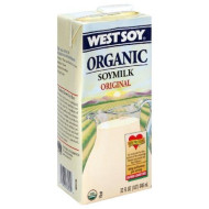 Westsoy Soy Milk Original Organic, Gluten Free, 32-Ounces (Pack Of6)