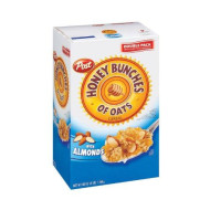 Post Honey Bunches Of Oats W/Almonds - 48Oz - Case Pack Of 4