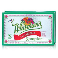 Whitman's Sampler Assorted Sugar-Free Candies, 10 Ounce Box (Pack of 3)