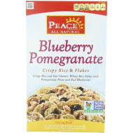 Peace Cereal, Blueberry Pomegranate, 12-Ounce (Pack Of 3)