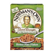 Newman'S Own Honey Flax Flakes Wheat Bran Cereal, 16-Ounce (Pack Of 5)