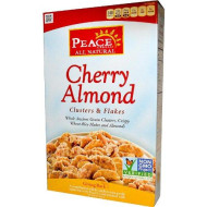 Peace Cereal All Natural Cereal Cherry Almond - 11 Oz