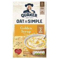 Quaker Oats - Oat So Simple - Golden Syrup - 360G