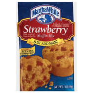 Martha White Strawberry Muffin Mix, 7-Ounce (Pack Of 12)